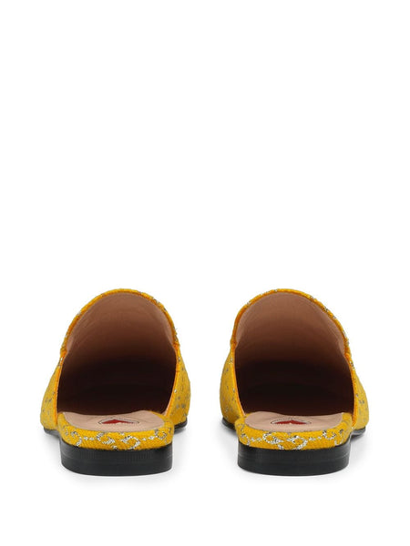 Princetown Donna Slipper - Yellow Back