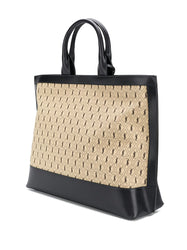 Monogram All-Over Tote Bag 3/4
