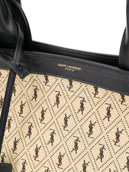 Monogram All-Over Tote Bag Close UP