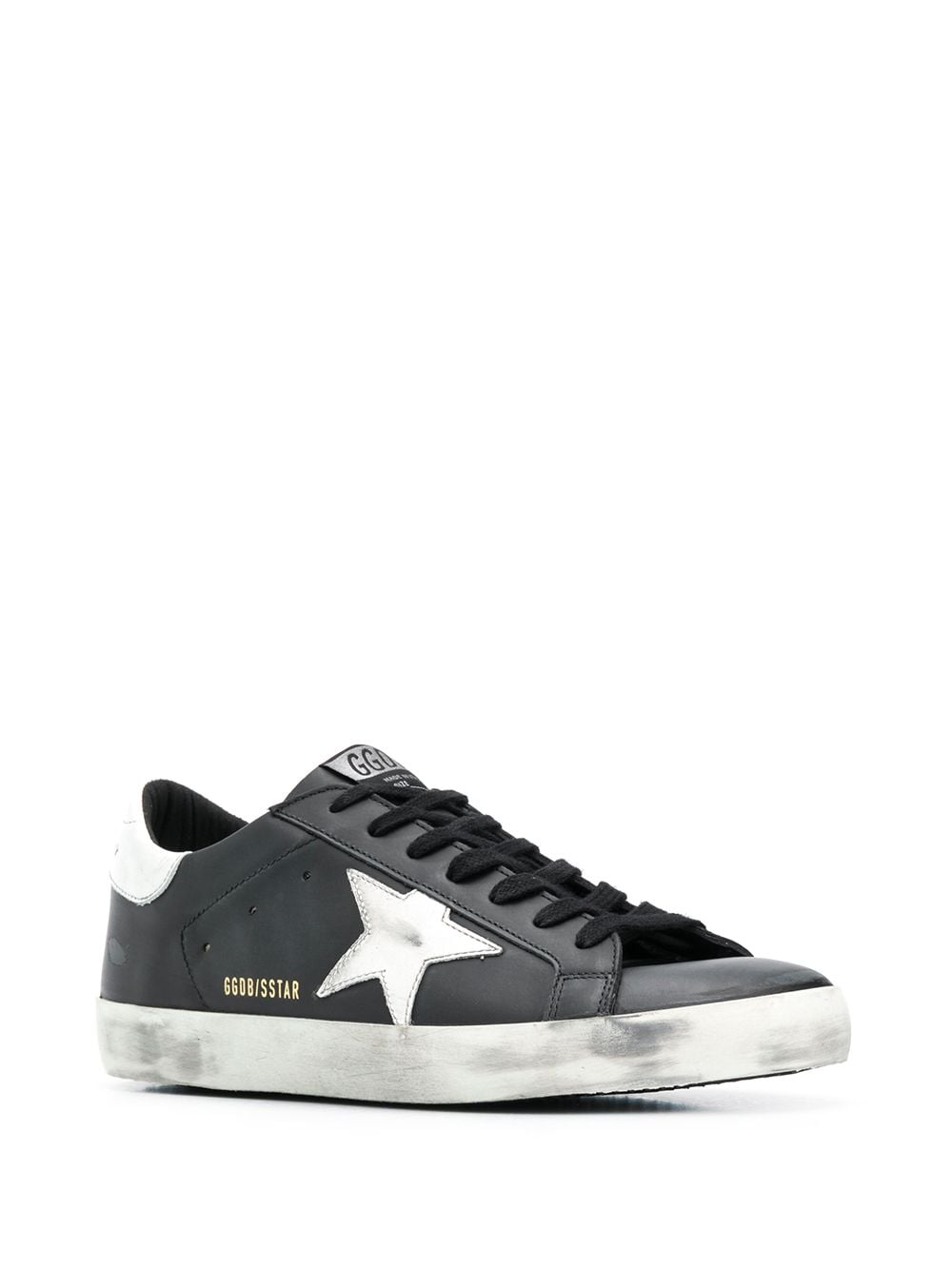 Mens Superstar Sneakers 3/4