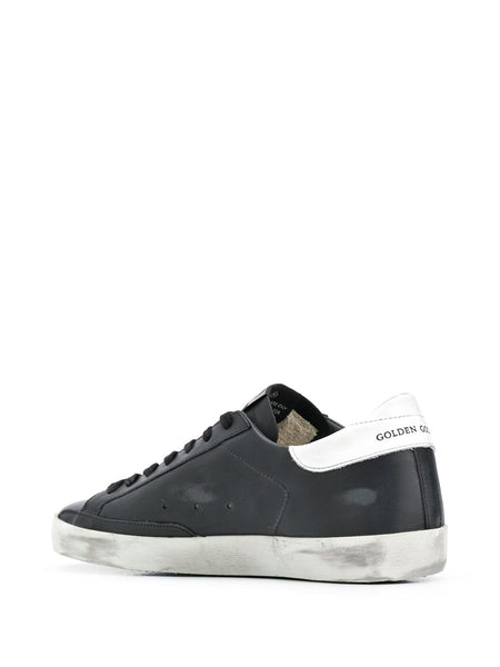 Mens Superstar Sneakers Back