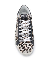 Men's Superstar Leopard-Print Sneakers