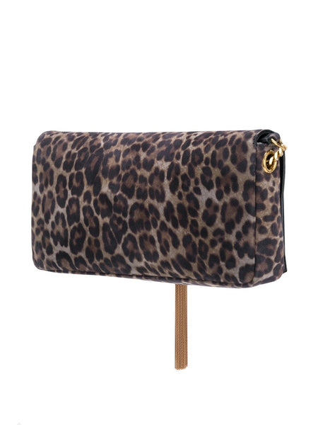 Kate Leopard Shoulder Bag Back