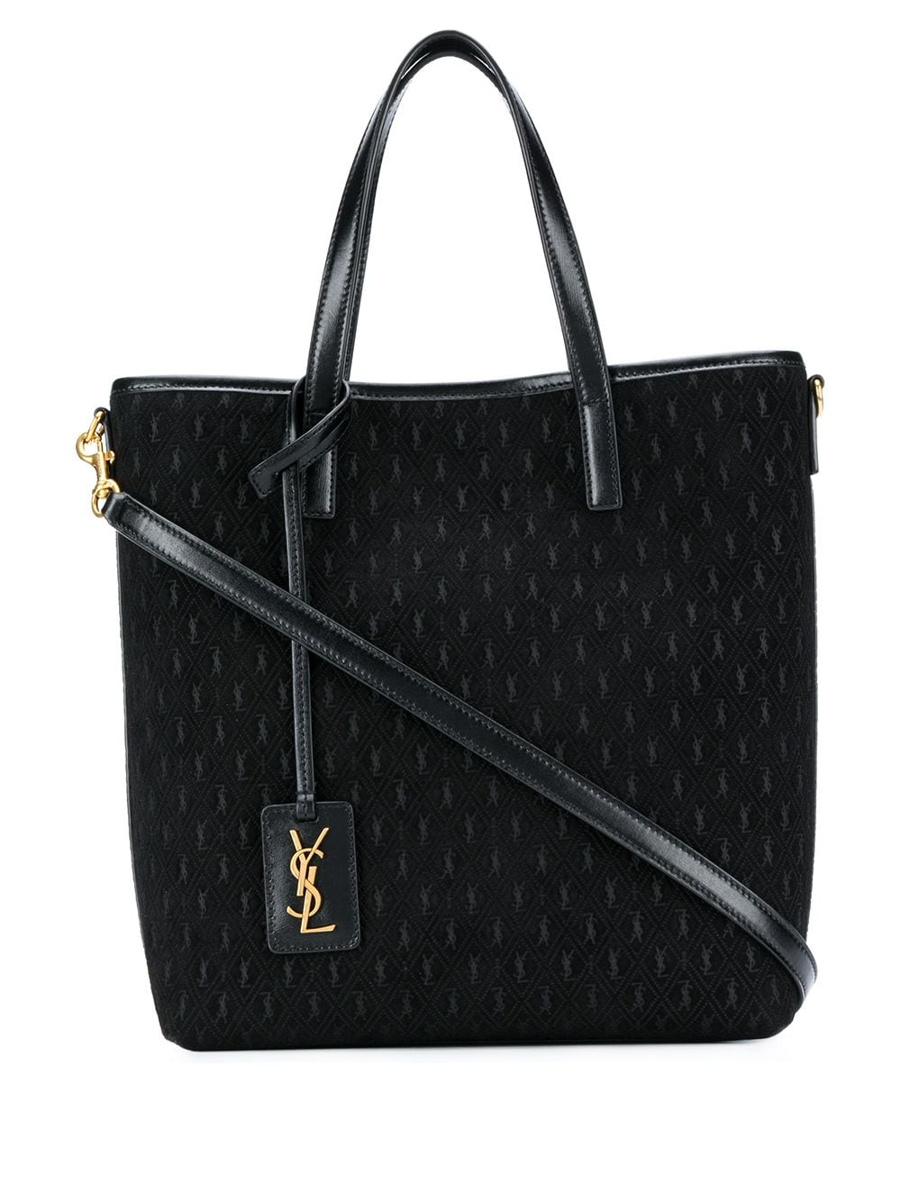 All-Over Monogram Tote