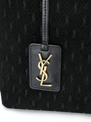 All-Over Monogram Tote Detail