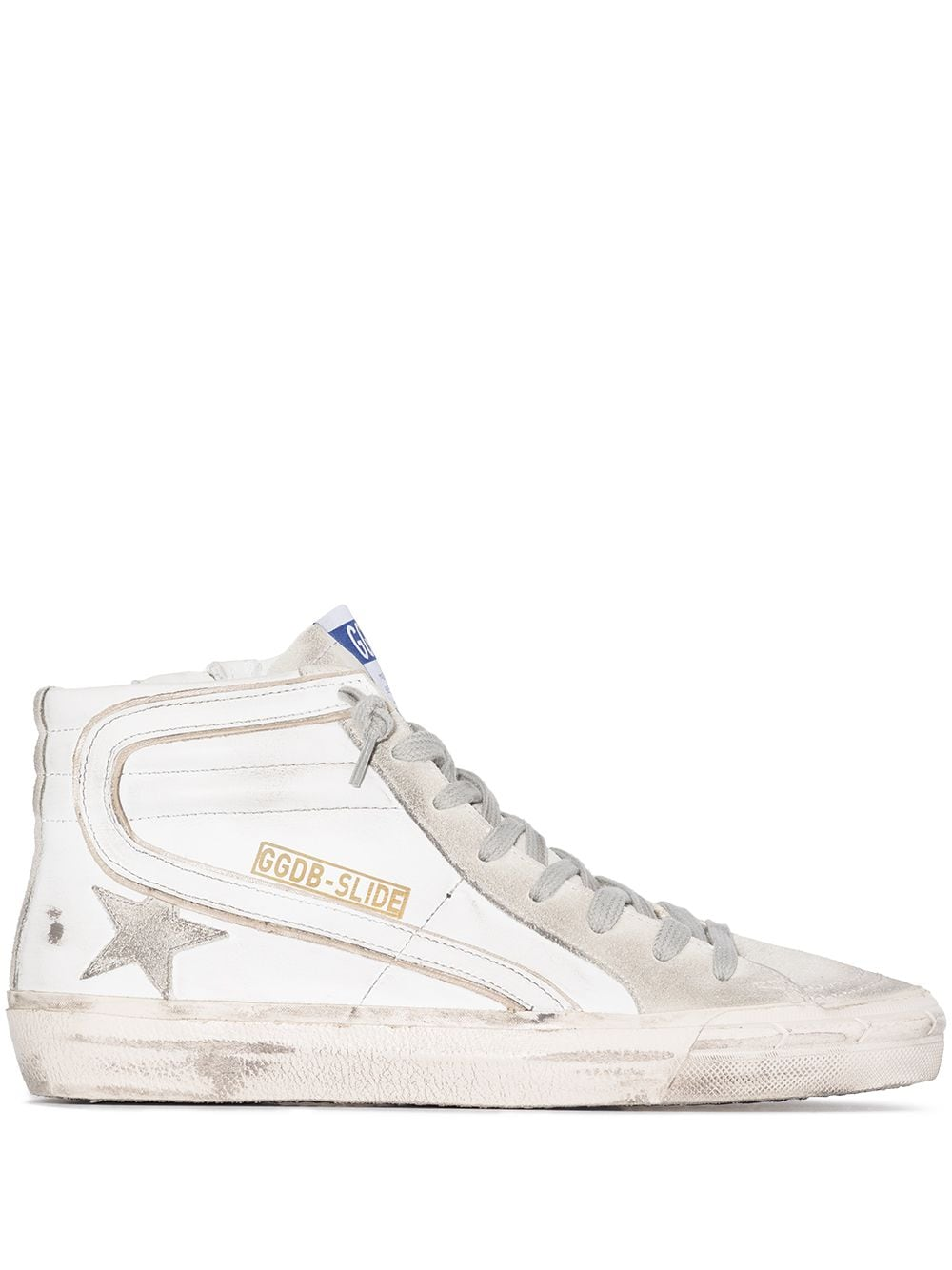 Slide High-Top Sneakers