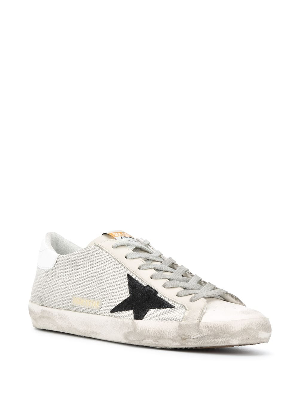 Mens Superstar Low-Top Sneakers 3/4