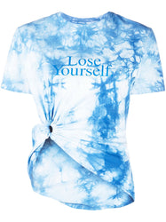 Lose Yourself Cinched Tie-Dye T-Shirt