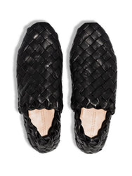 Intrecciato Slip-On Loafers