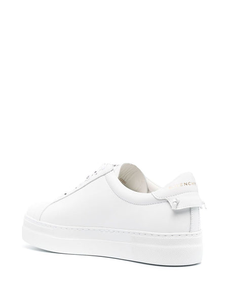 Logo-Lace Low-Top Sneakers