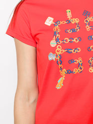 Four-Charms Logo T-Shirt