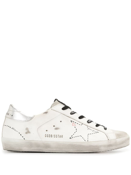 Superstar Distressed Low-Top Sneakers