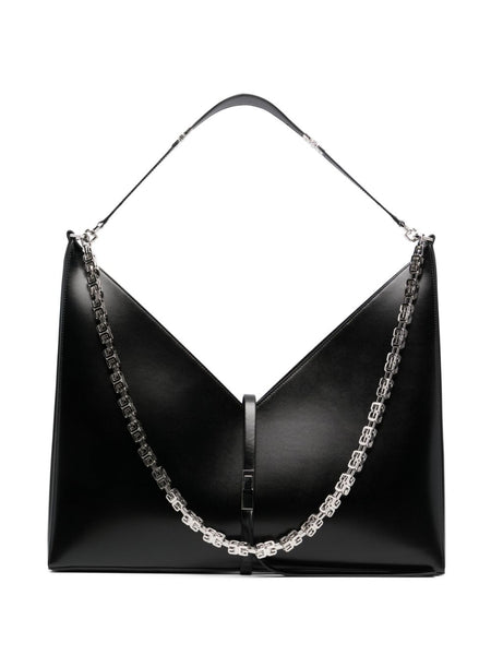 Large Cut Out Leather Bag