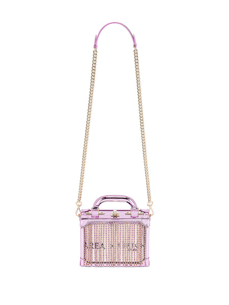 Ling Ling Bag Purple with Chain