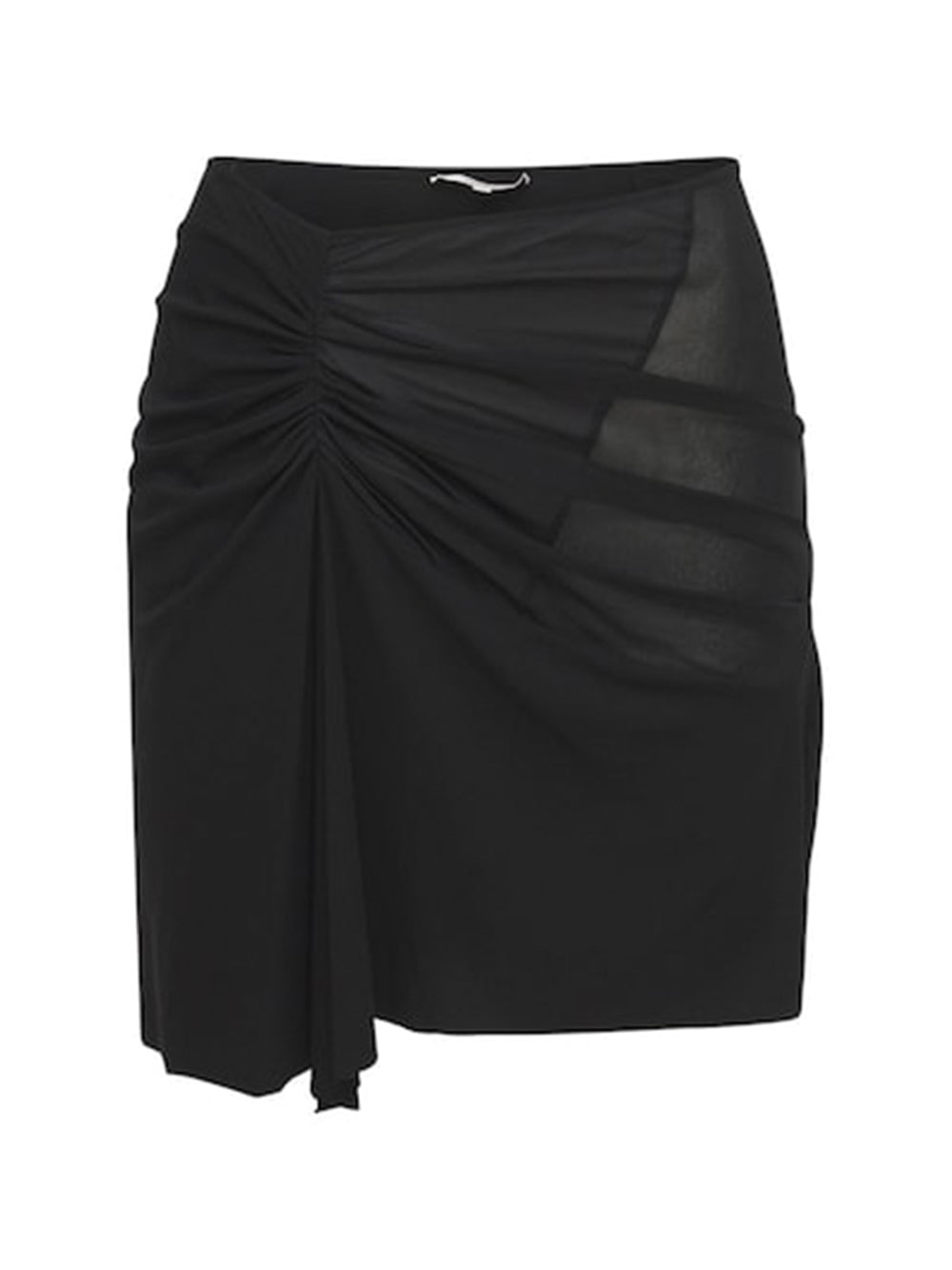 Asymmetric Mini Skirt