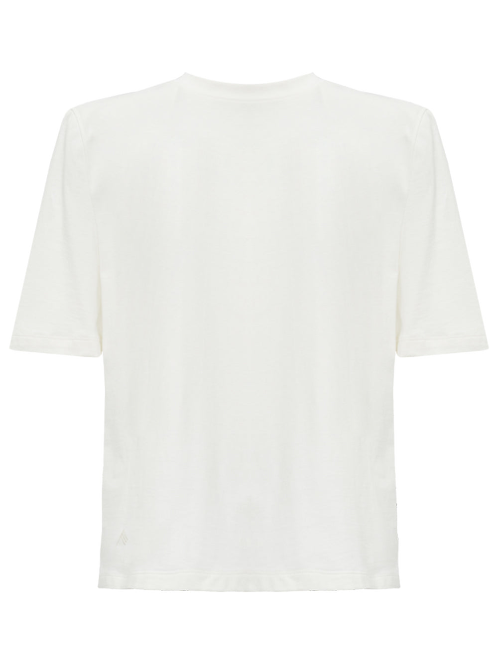The Attico Structured Shoulders T-shirt White