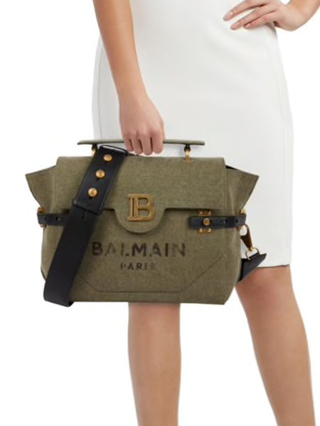 B-Buzz 30 Canvas Satchel Scale