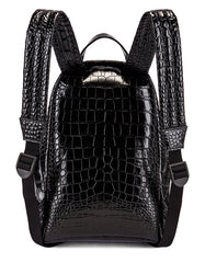 Small Embossed Croc Everyday Backpack