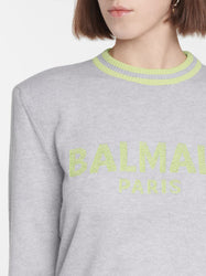 Logo Wool and Cashmere-blend Sweater