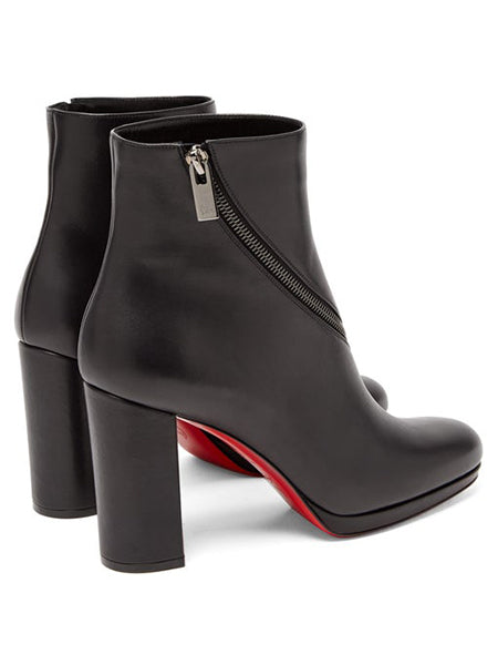 Birgitta 100 Leather Ankle Boots Right