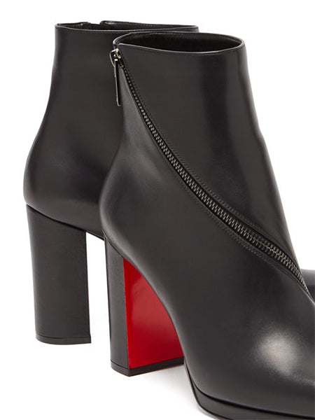 Birgitta 100 Leather Ankle Boots Details