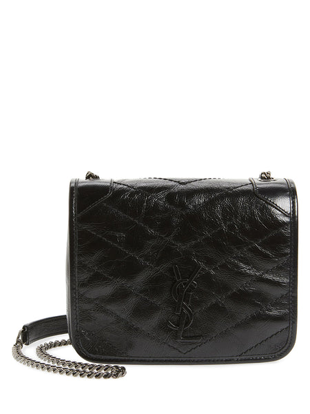 Niki Leather Crossbody Bag