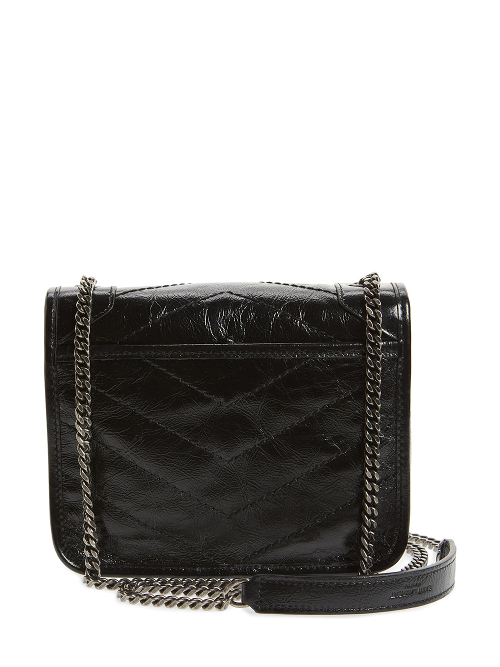 Niki Leather Crossbody Bag (Back)