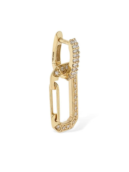 Chiara 18kt Gold & Diamond Mono Earring
