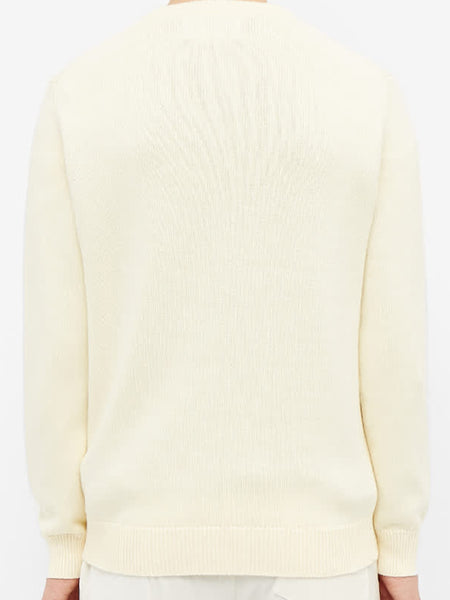 Casa Way Jumper - Cream Back