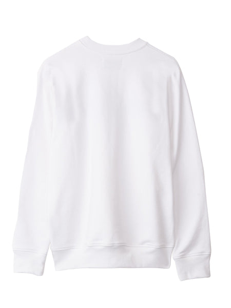 Casa Block-Logo Sweatshirt - White Back