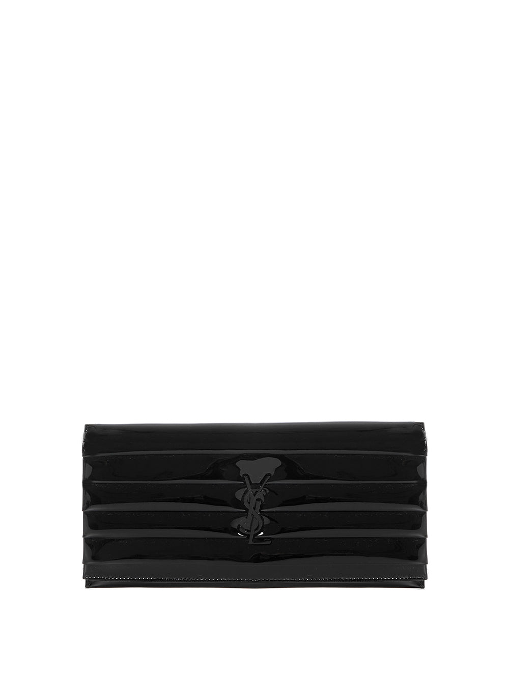 Smoking Clutch in Black Patent Leather