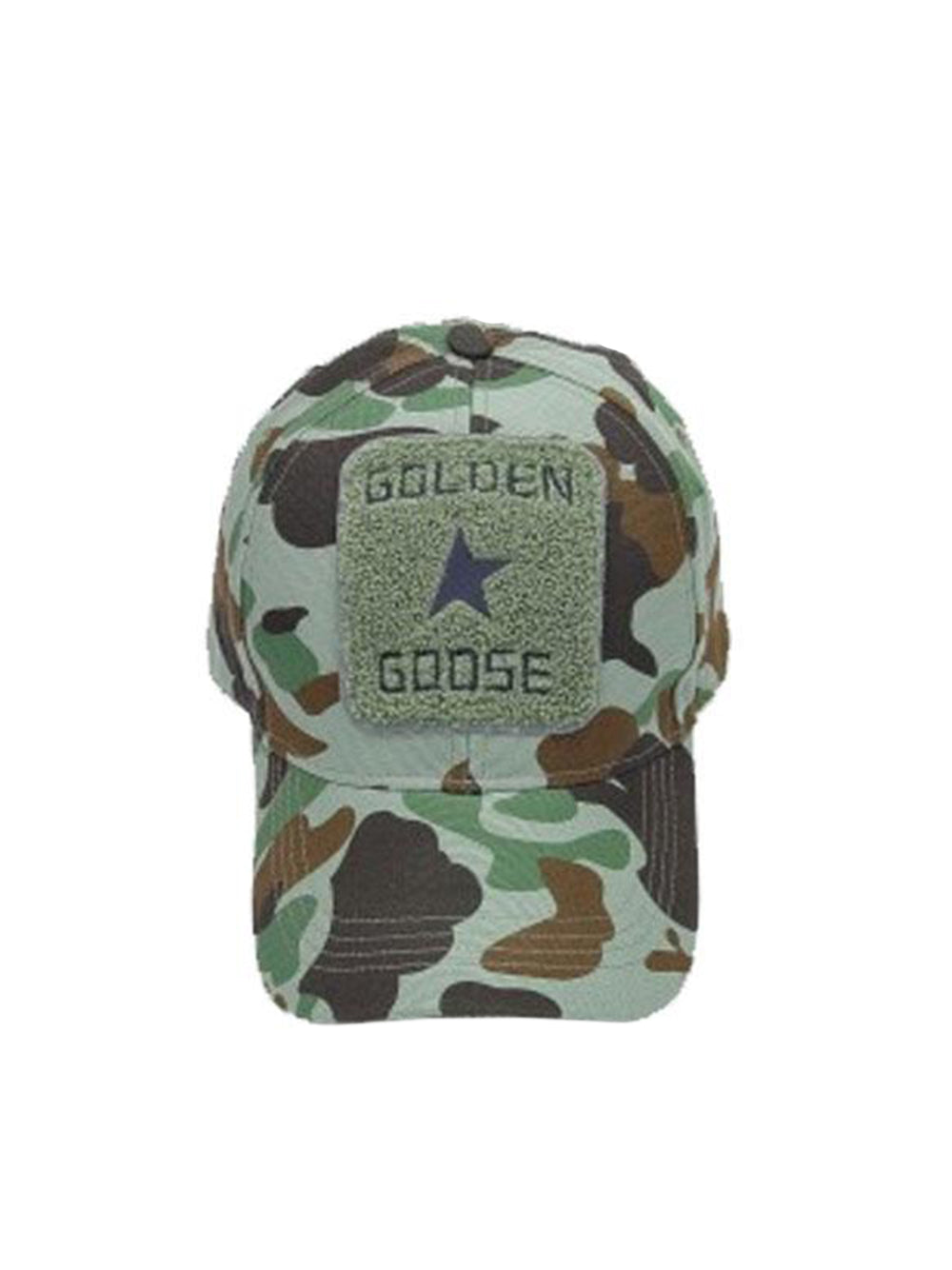 Cap Shou Military Camouflage Baseball Cap Straight On