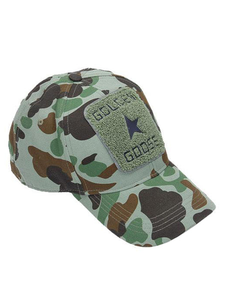 Cap Shou Military Camouflage Baseball Cap Front