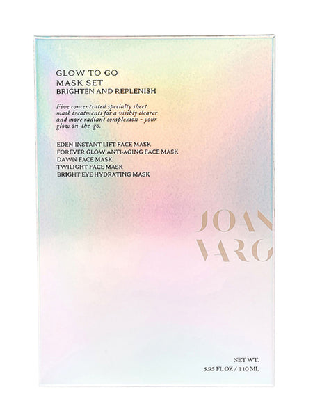Glow-to-Go Mask Set Packaging