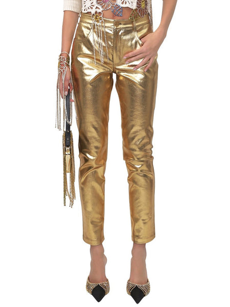 Five-Pocket Jean Gold