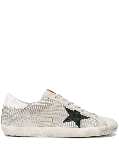 Grey Cord Superstar Sneakers