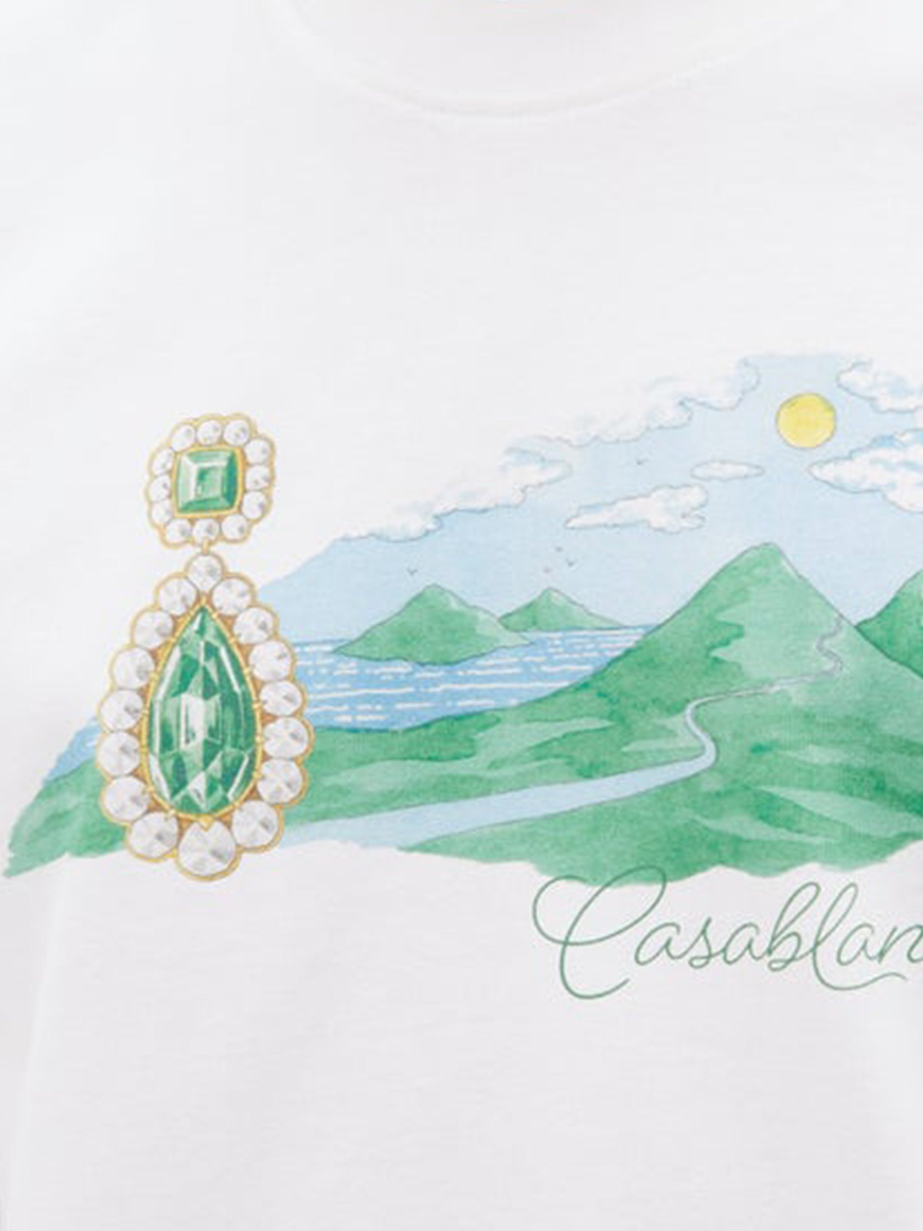 Casa Jewel T-Shirt Details