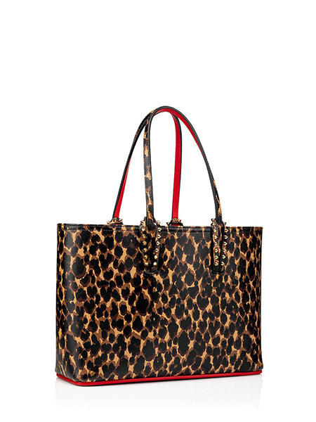 Cabata Small Tote Bag Leopard Left