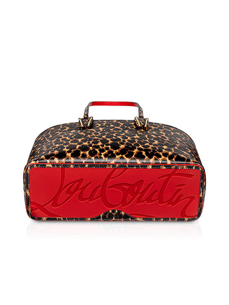 Cabata Small Tote Bag Leopard Bottom