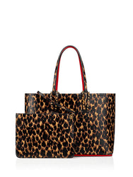 Cabata Small Tote Bag Leopard with Case