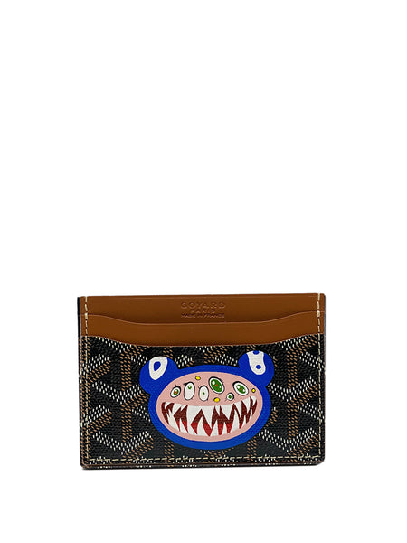 Custom Murakami Monster Goyard Saint Sulpice Card Holder Front