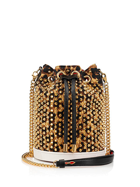 Marie Jane Bucket Bag Gold Side