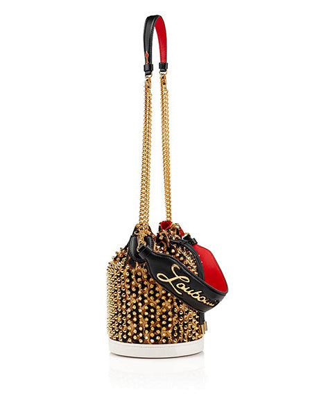 Marie Jane Bucket Bag Gold With Strap