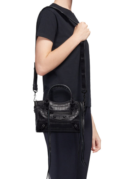 Classic City Mini Shoulder Bag on model