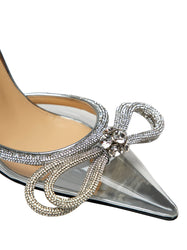 Crystal PVC Pumps
