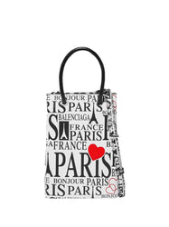 iPhone Cover Paris Bonjour with Strap