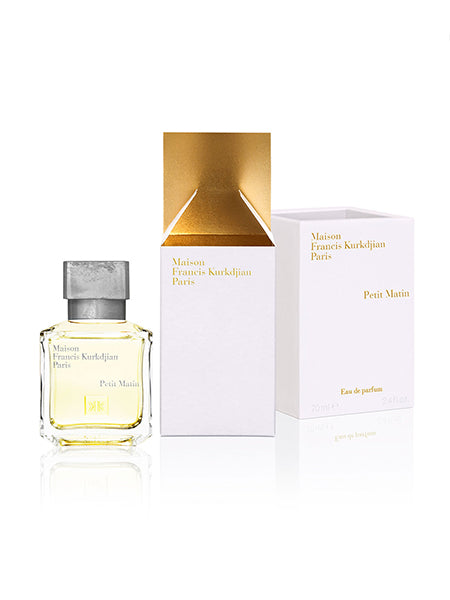 Petit Matin Eau de Parfum, 2.4 oz./ 70 mL Packaging