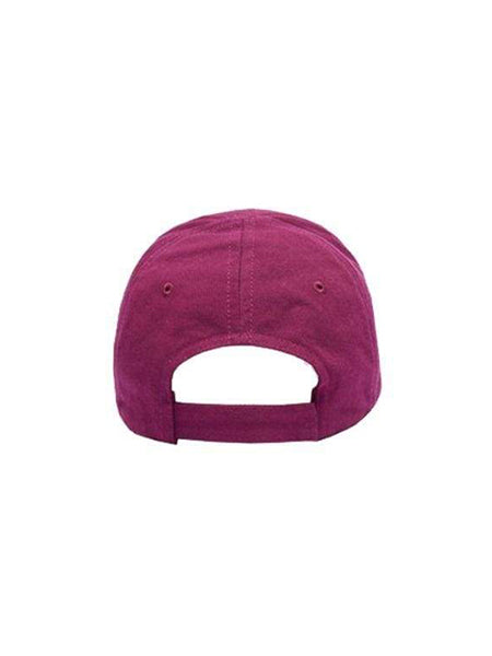 Purple Hat back view