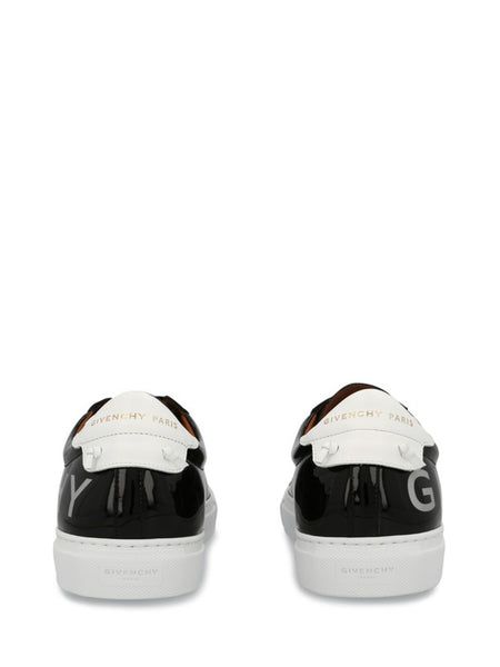 Urban Street Patent Leather Sneakers - back view
