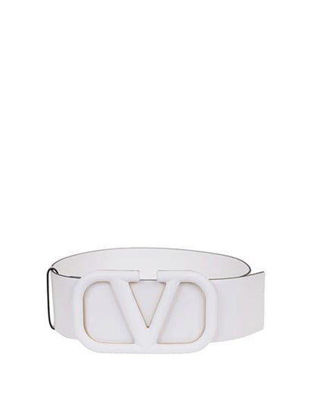 VLogo Leather Belt